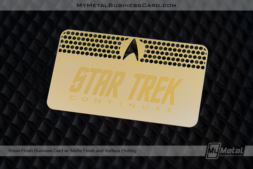 Brass-Finish-Card-With-Matte-Finish-For-Star-Trek-Continues-846017