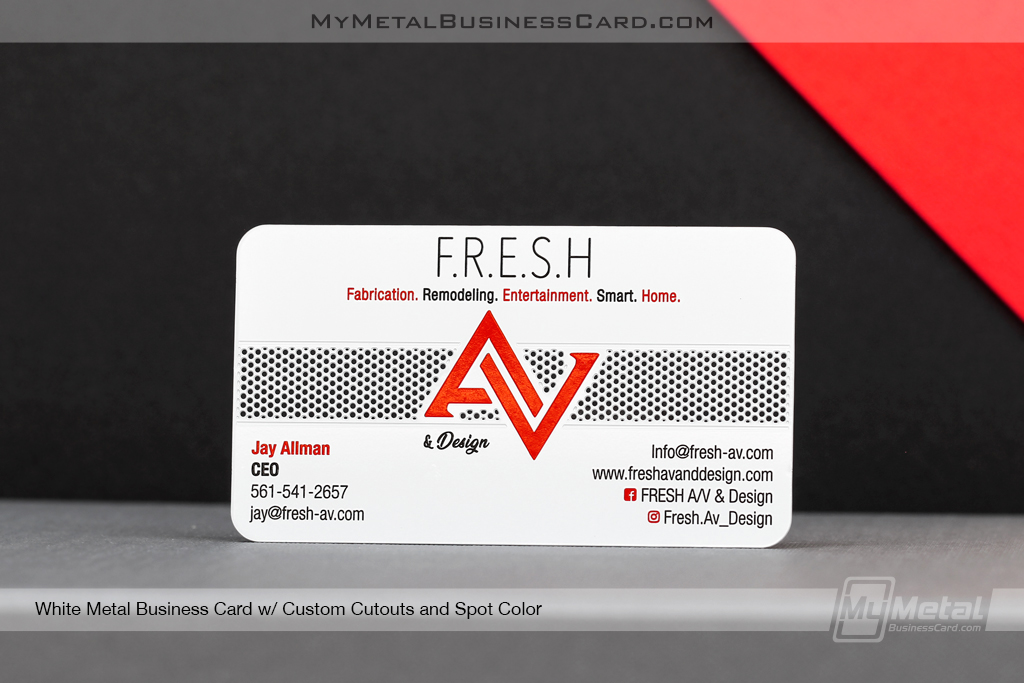 White-Metal-Business-Card-Custom-Cutout-Spot-Color-AV