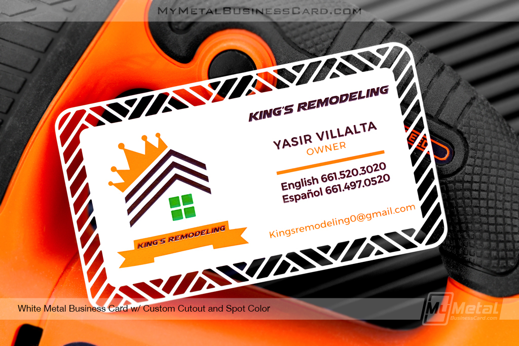 White-Metal-Business-Card-Custom-Cutout-Spot-Color-Kinds-Remodel