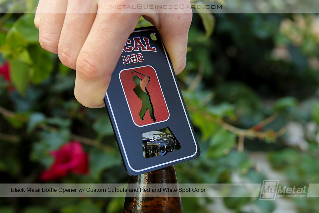 Black-Metal-Bottle-Opener-Business-Card-With-Red-Screen-Printed-Logo