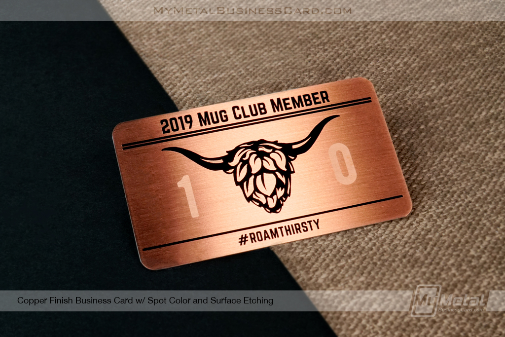 Copper-Finish-Business-Card-Brewery