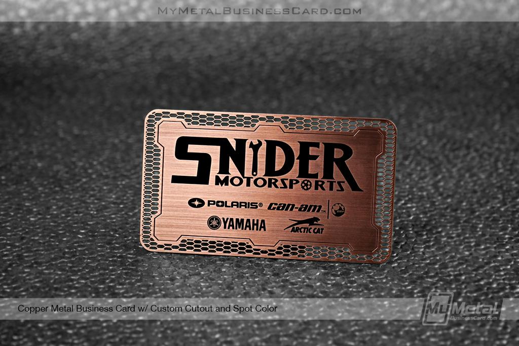 Copper-Finish-Business-CardSnyder-Motorsports-Cutout-Spot-Color
