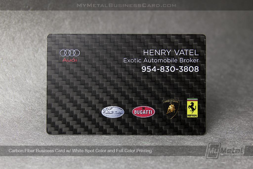 Carbon-Fiber-Business-Card-For-Audi-Exotic-Automobile-Broker-Full-Color-Printing-595659