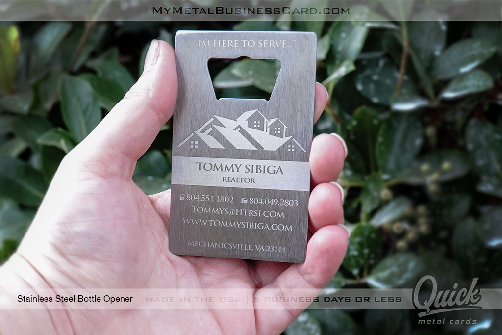 Stainless-Steel-Quick-Metal-Bottle-Opener-Business-Card-For-Realtor