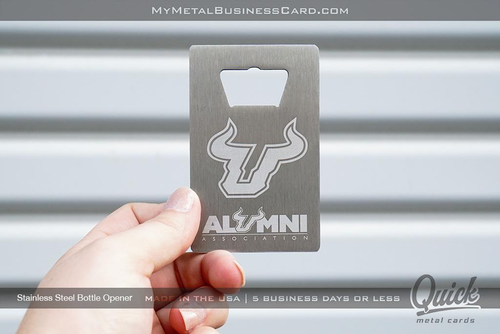 Stainless-Steel-Quick-Metal-Bottle-Opener-Business-Card-For-University-Alumni-Association