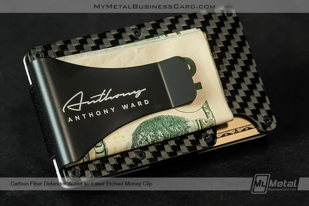 Carbon-Fiber-Defender-Wallet-with-Autograph-Logo-Etched-onto-Money-Clip