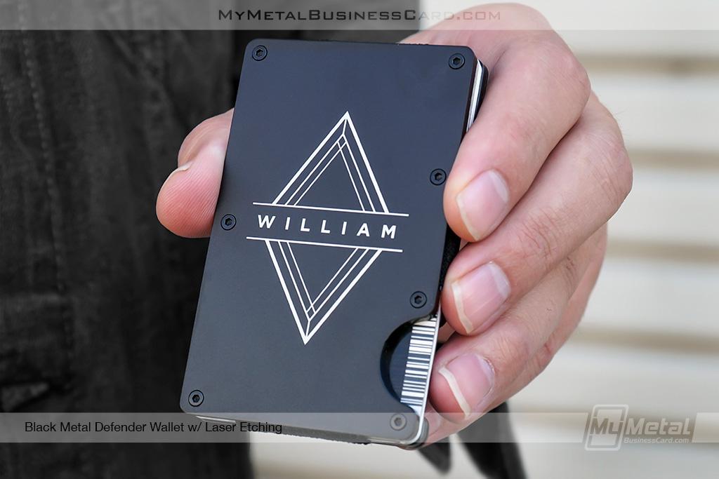 The Defender Slim Metal RFID Blocking Wallet