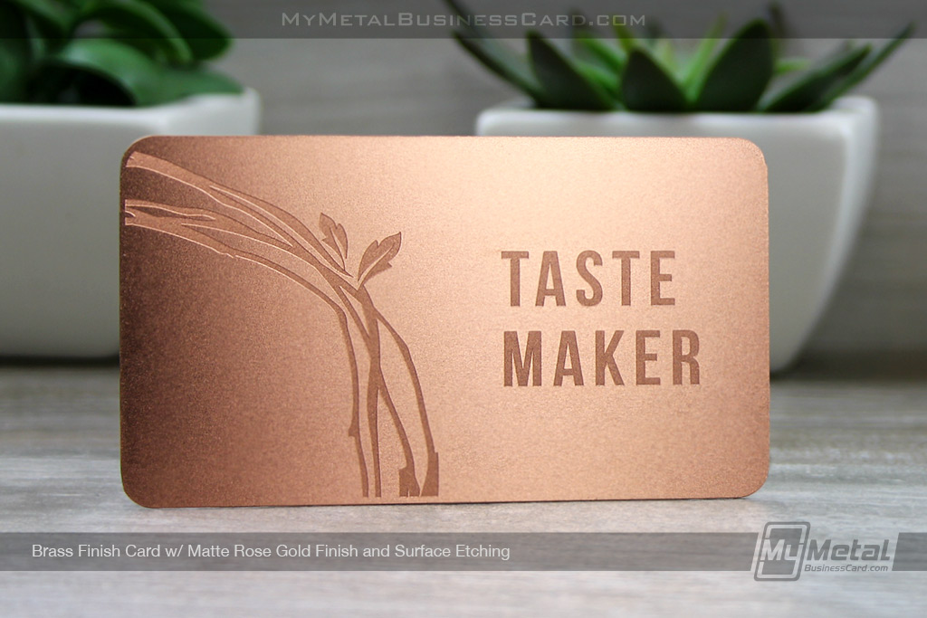 Rose-Gold-Finish-Brass-Metal-Card-Matte-With-Surface-Etching