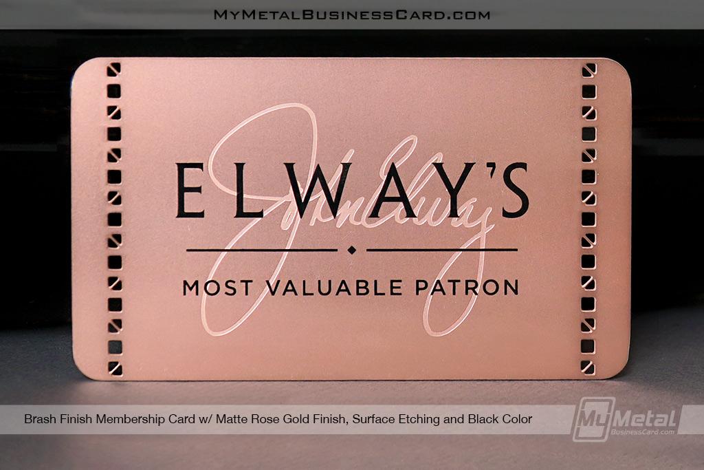 Matte-Rose-Gold-Finish-Brass-Metal-Membership-Card--Surface-Etching-and-Cutouts