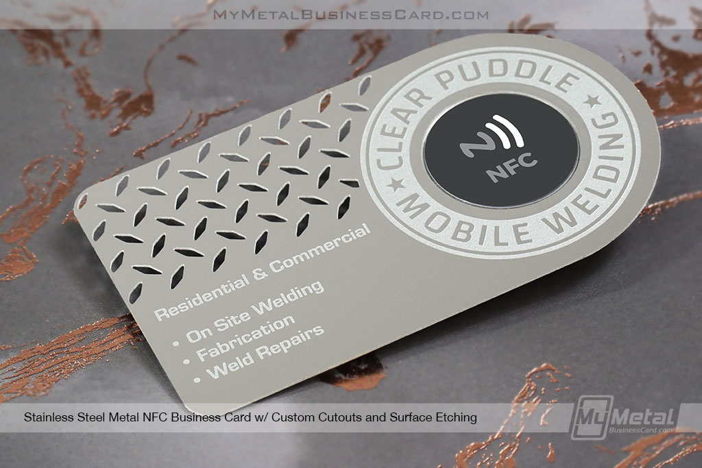 Stainless-Steel-NFC-Business-Custom-Shape-Surface-Etching