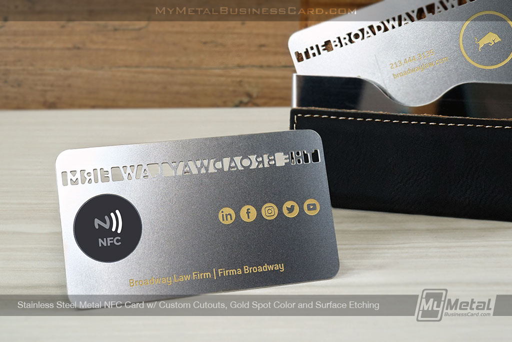 Stainless-Steel-NFC-Business-Card-Custom-Cutout-Spot-Color