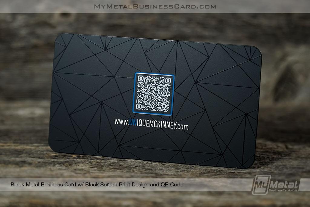 Black-Metal-Tech-QR-Code-Business-Card-with-Sleek-Matte-Design