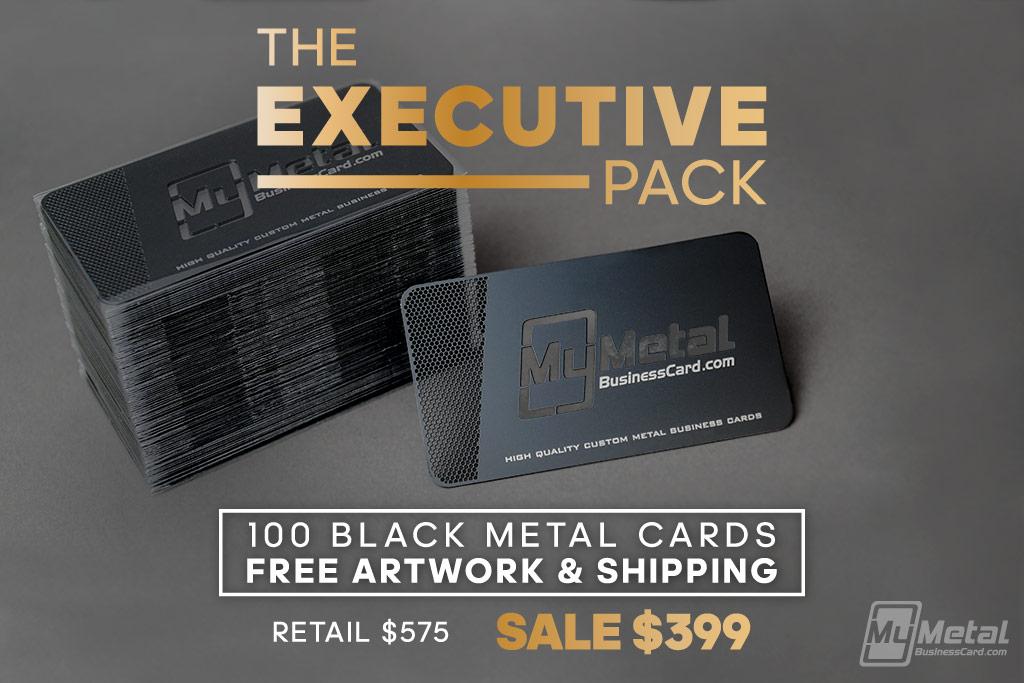 Metal Cards Executive Pack