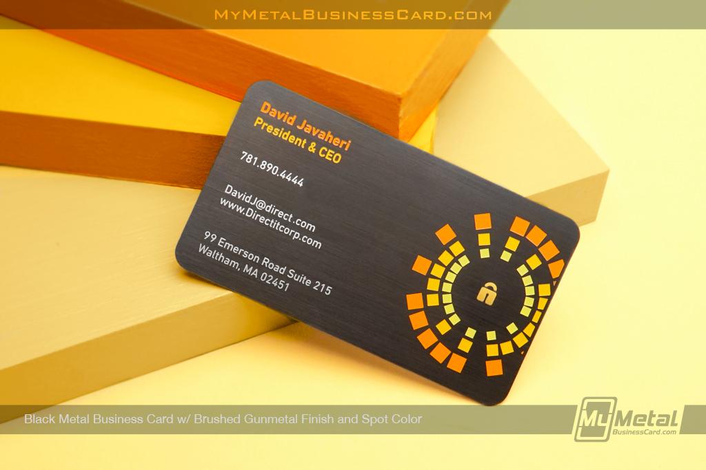 Back-Metal-Business-Card-Brushed-Gunmetal-Spot-Color