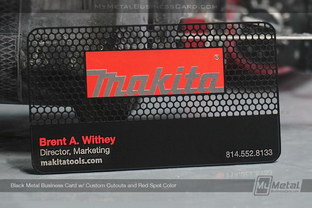 Black-Metal-Custom-Business-Card-for-Makita-Tools