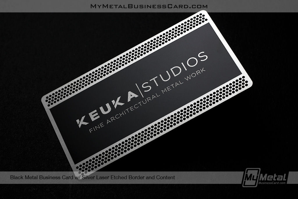 Black-Metal-Business-Card-With-Silver-Laser-Etched-Border-Content