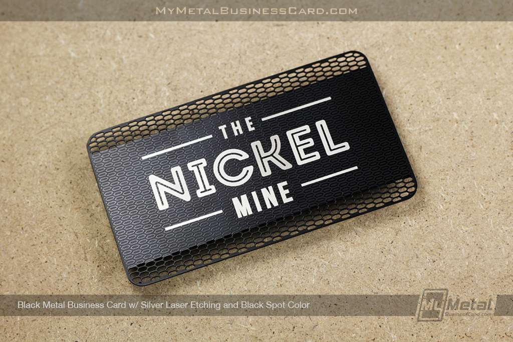 Black-Metal-Business-Card-With-Silver-Laser-Etching-And-Black-Spot-Color