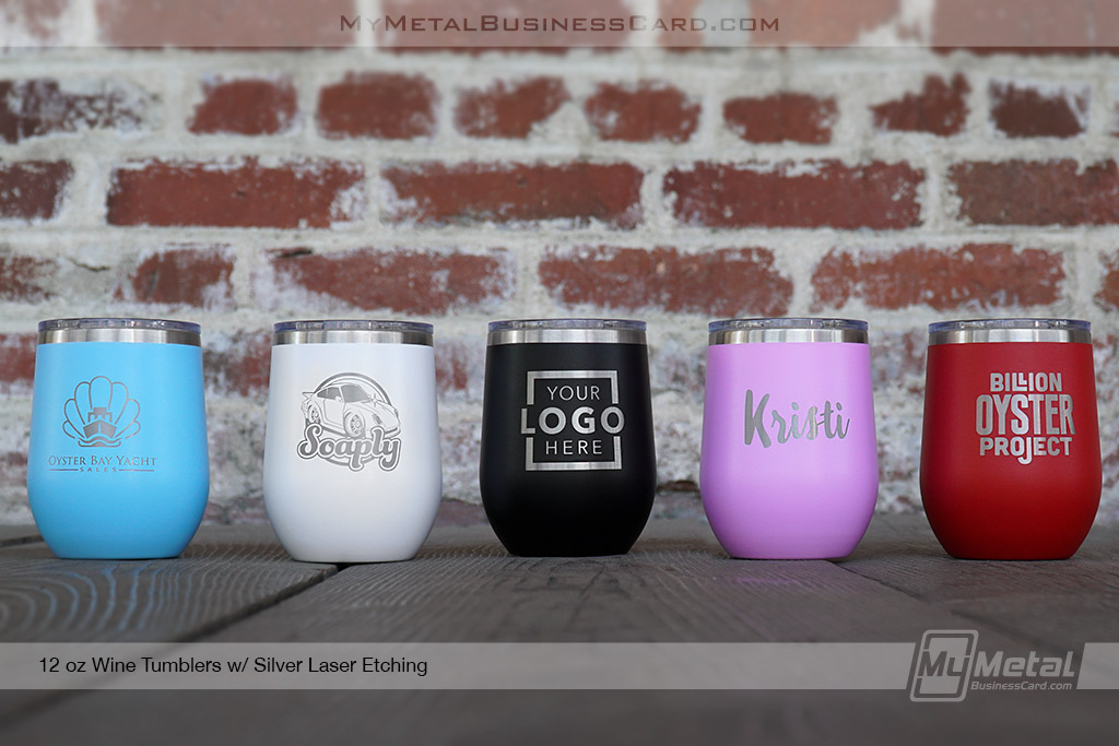 Colored-Metal-12-oz-Wine-Tumblers-Custom-Etched-With-Your-Logo