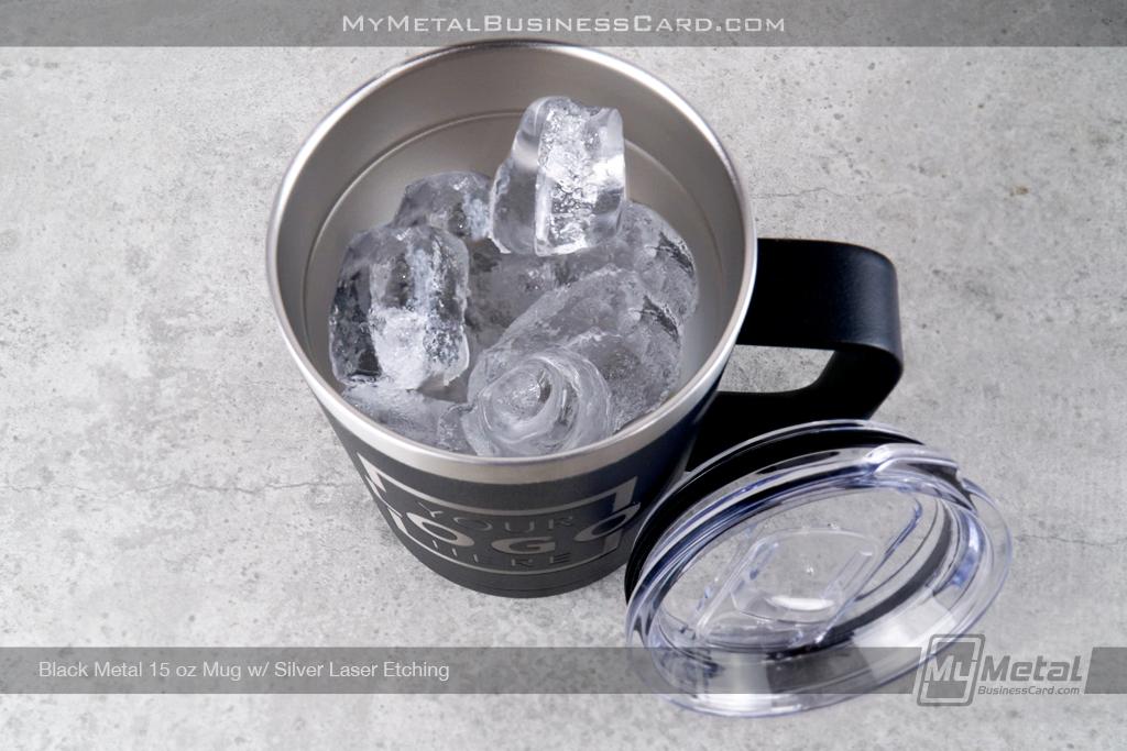 Black-Metal-15-Ounce-Mug-Silver-Laser-Etched-Logo
