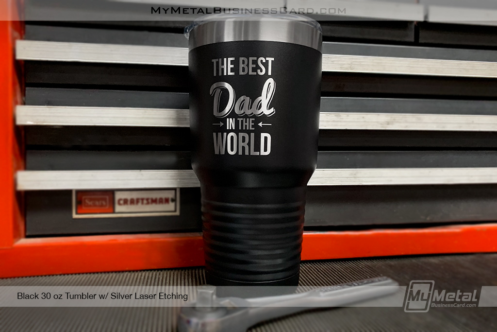 Black-30-oz-Metal-Tumbler-With-Custom-Etched-Logo-for-Dad