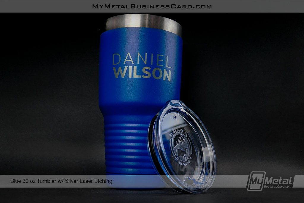 Blue-30-oz-Metal-Tumbler-Custom-Engraved-With-Your-Name