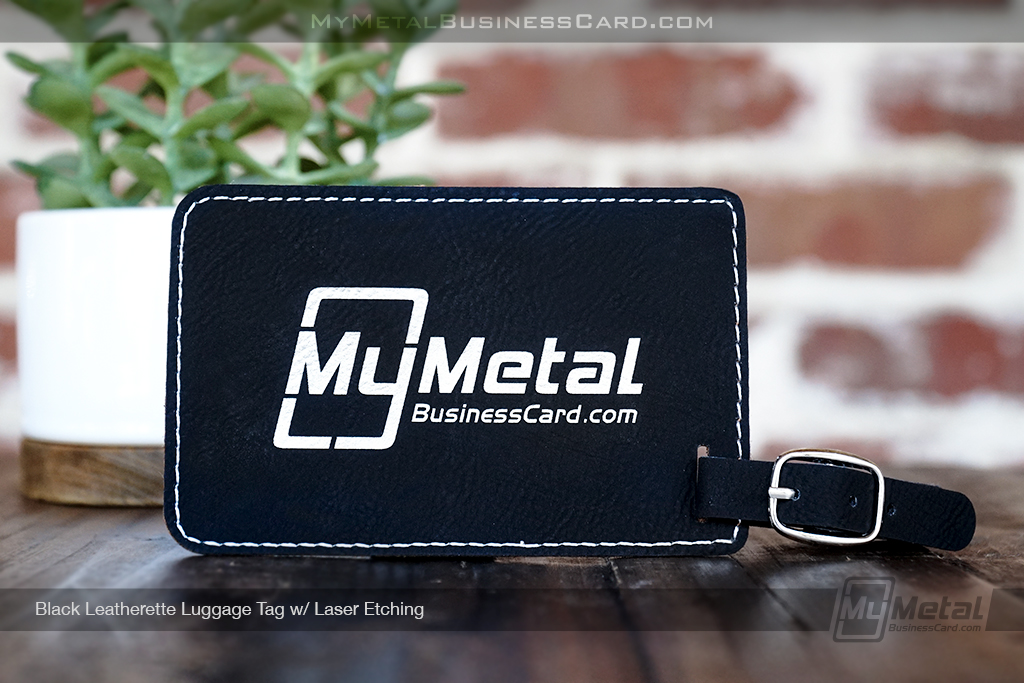 Black-Leatherette-Luggage-Tag-Personalized-with-Your-Logo