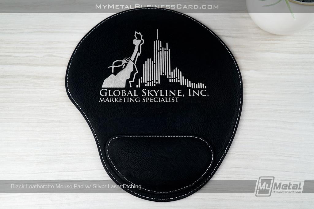 Black-Leatherette-Mouse-Pad-Global-Skyline