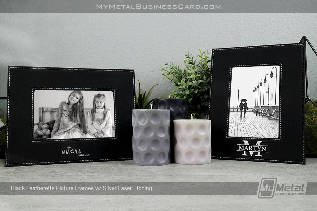 Black-Leatherette-Picture-Frames-Set-Up