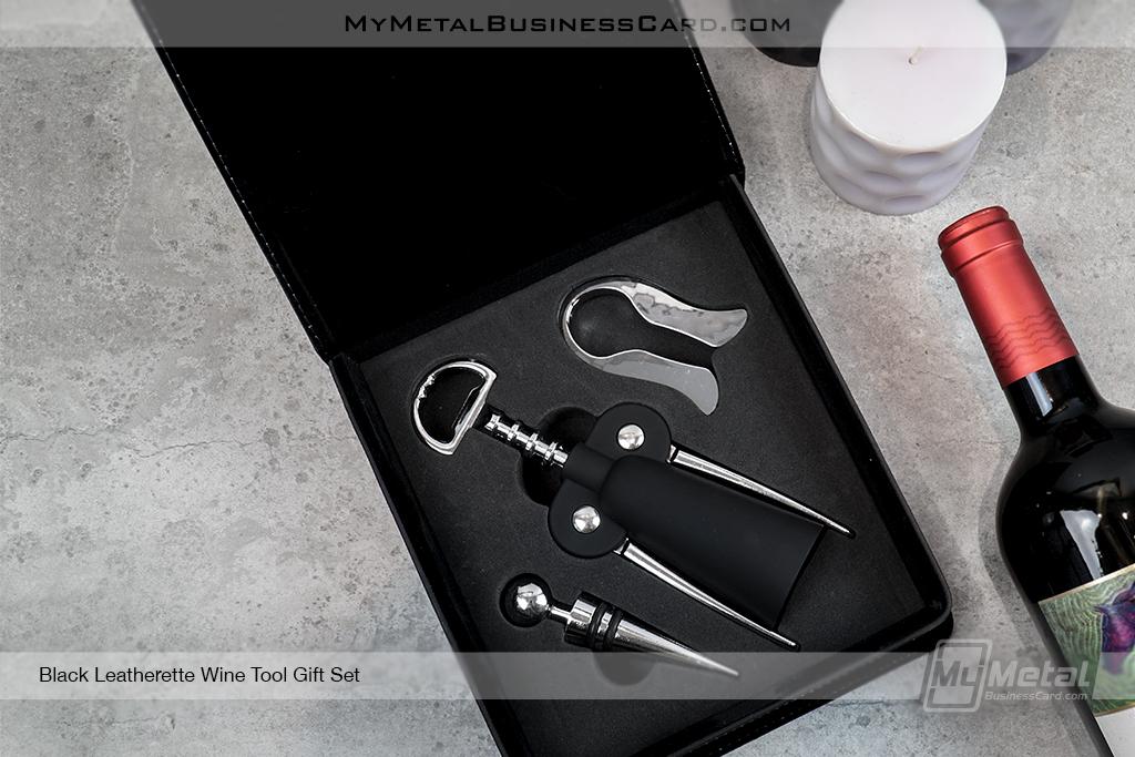 Black-Leatherette-Wine-Tool-Gift-Set-Inside-View