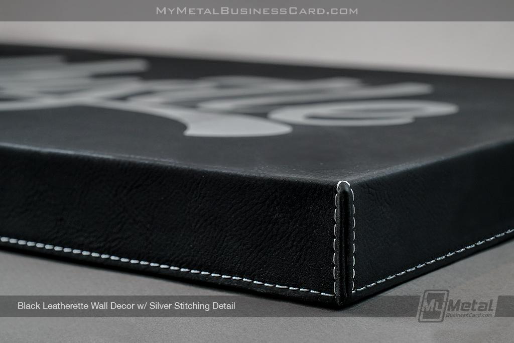 Black-Leatherette-Wall-Decor-Stitching-Detail