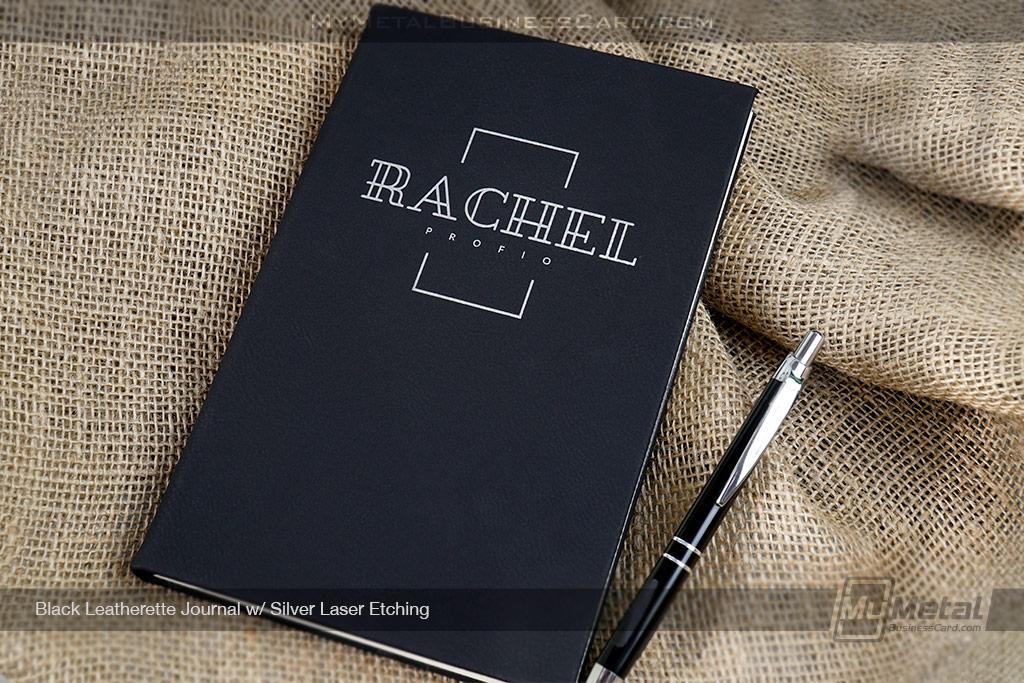 Black-Leatherette-Journal-Square-Name-Logo