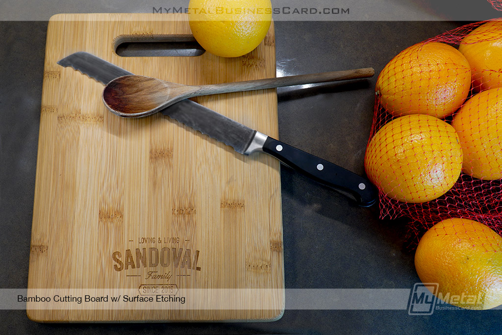 Bamboo-Cutting-Board-With-Family-Logo