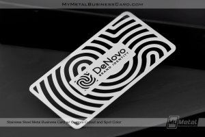 Stainless-Steel-Metal-Business-Card-Custom-Cutout-Spot-Color-Denovo-Indentity
